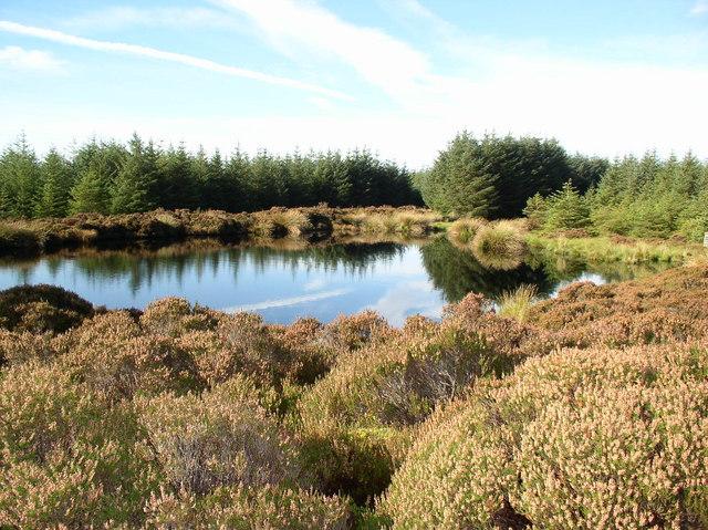 Loch on Muillbane Hill