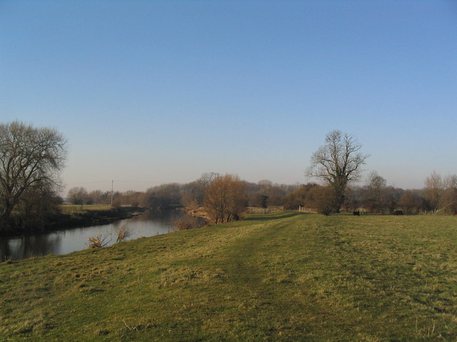 West bank of the River Soar