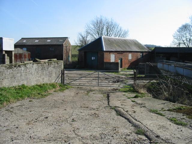 Farm buildings, Lower Rowling Farm