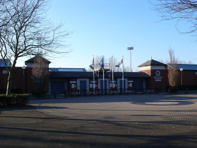 Dorchester Town Football stadium