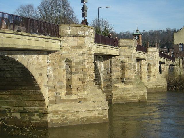 The 'old' Bridge at Bridgnorth