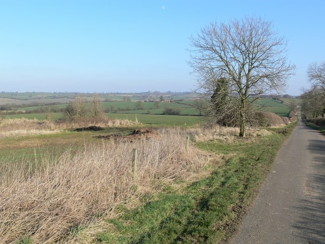 Washdyke Road towards Owston