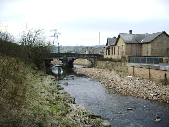 Pendle Water and Reedyford Bridge