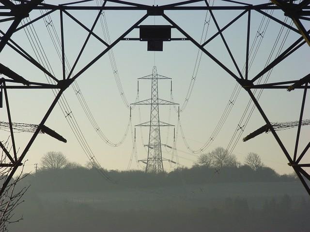 Pylons, Moulsford Bottom