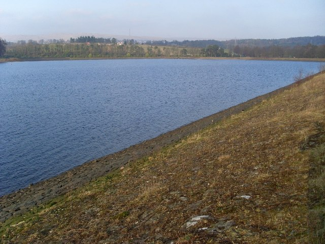 The eastern view of Craigmaddie Reservoir