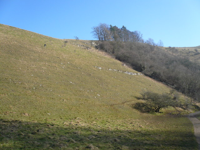 Milldale - View from Footpath up Hillside
