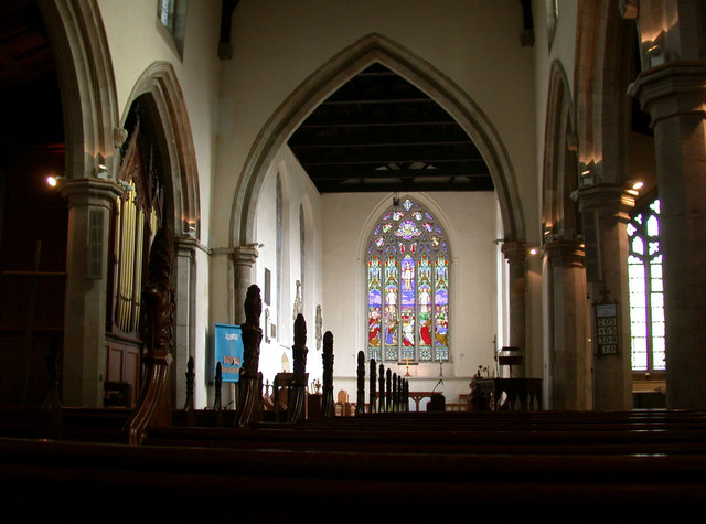 All Saints' Church, interior