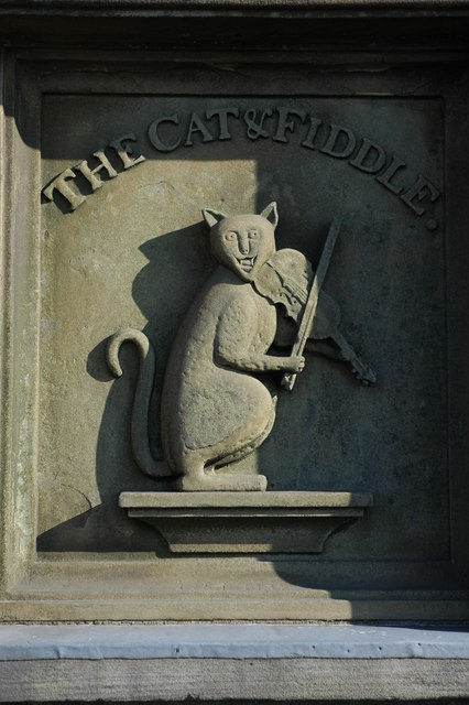 The Cat and Fiddle sign