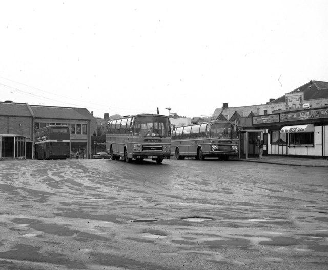 Waller Hill bus station, Skipton