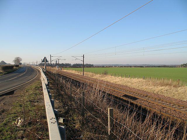 East coast main line, Drem