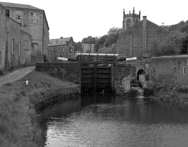 Lock No 2, Rochdale Canal, Sowerby Bridge