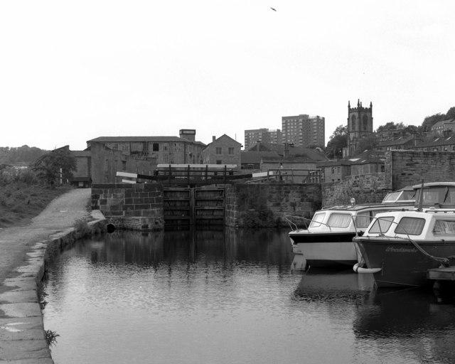 Lock No 1, Rochdale Canal, Sowerby Bridge