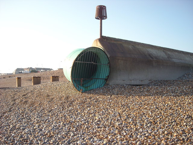 Storm Drain, Bexhill-on-Sea