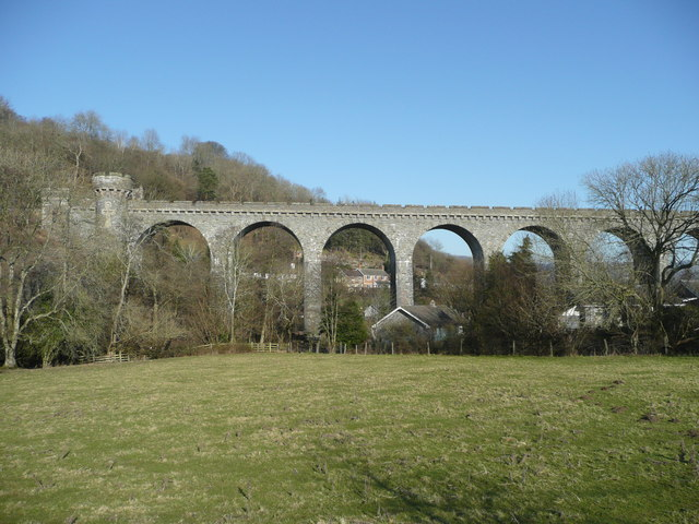 The Knucklas Viaduct