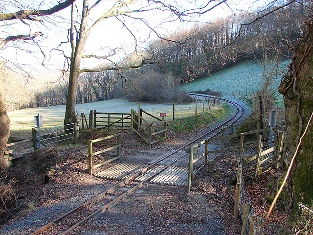 Farm crossing, Vale of Rheidol Railway