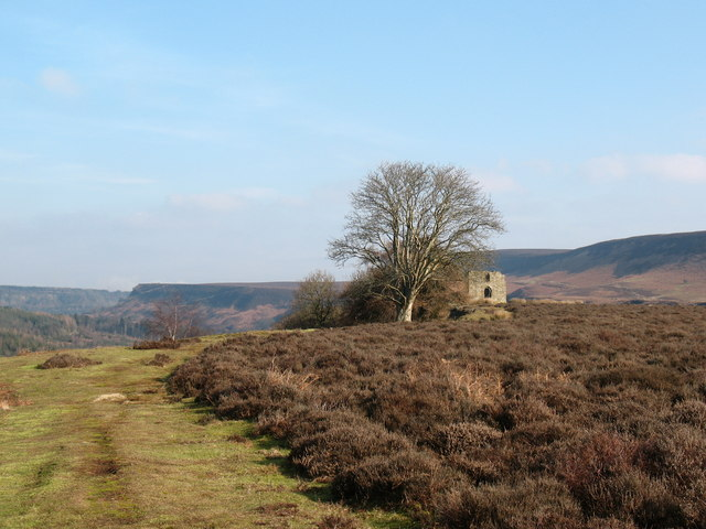Nearing Skelton Tower