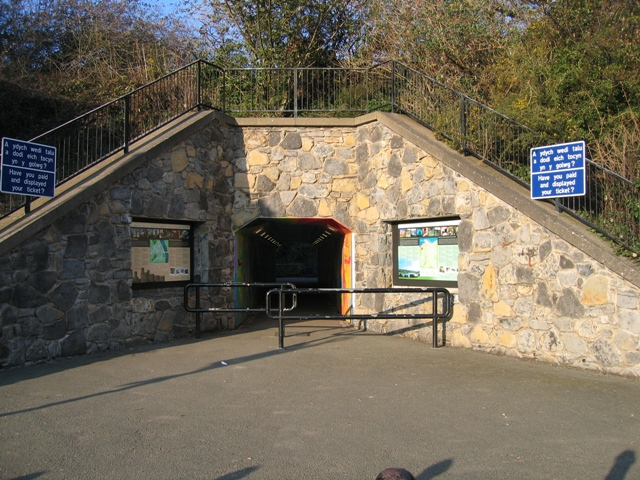 Subway at Conwy