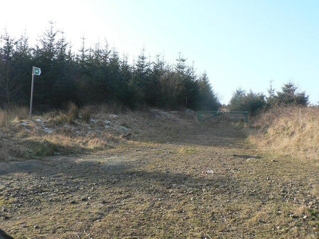Llanwonno: bridleway to Porth