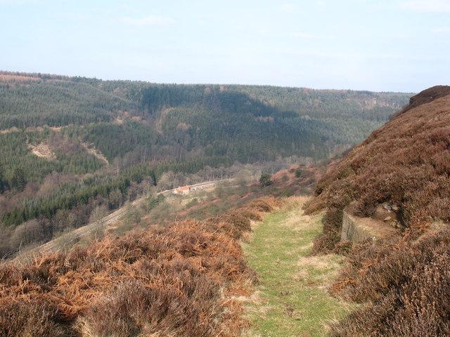 Path to Kidstye Farm