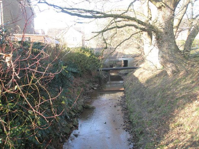 Stream near Pulens Lane