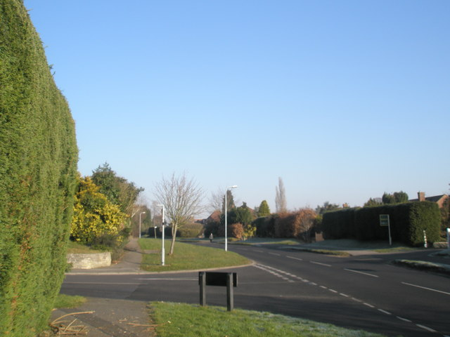 Junction of Moggs Mead and Pulens Lane