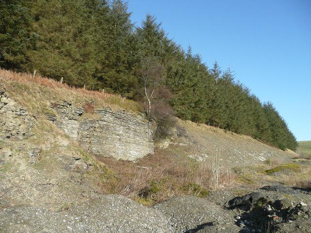 Quarries alongside the A44