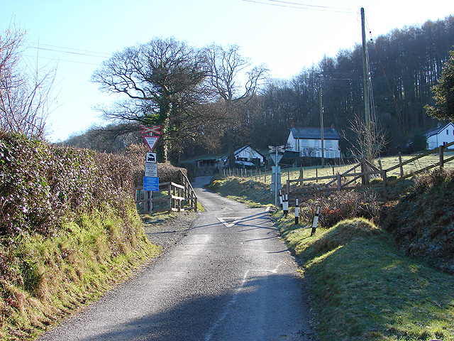 Level Crossing at Nantyronen