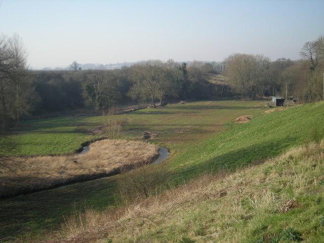 Wesley Brook valley at Sunnyside farm