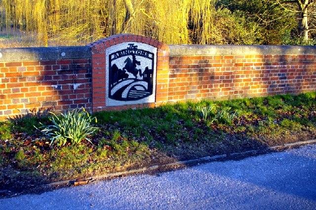 Abingtons village sign