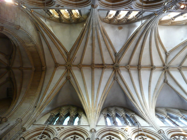 Fan-vaulting in Lincoln Cathedral