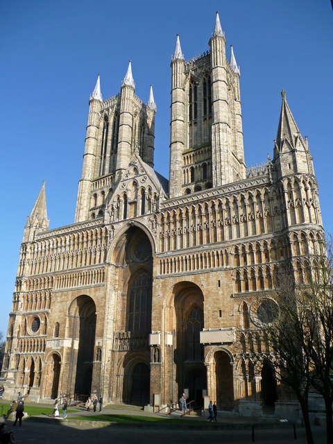West front - Lincoln Cathedral