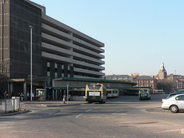 Newport: bus station