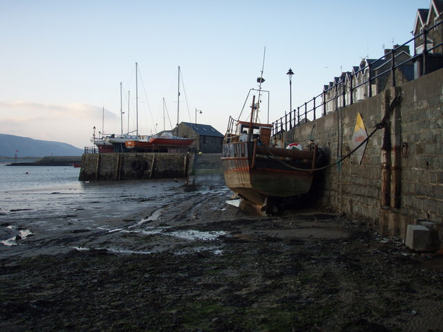 Quayside at low tide