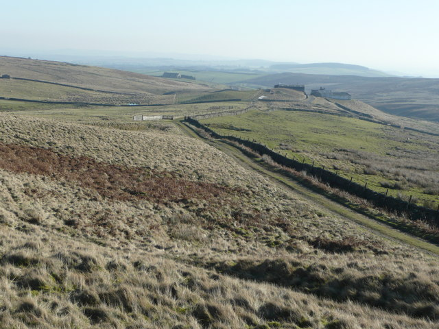 Woolly Hill, looking east
