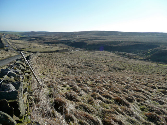 Hindon Beck valley