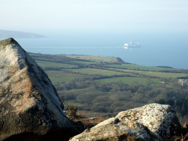 View over Fishguard Bay