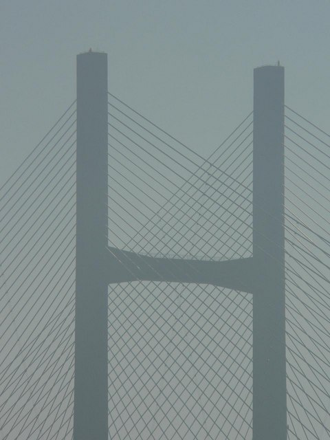 Second Severn Crossing: pier detail