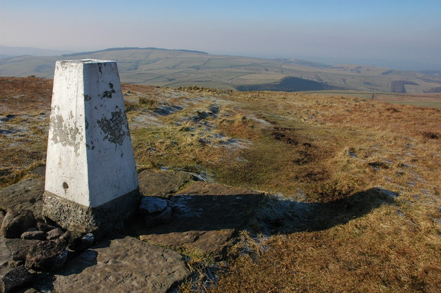 Trig point on Shining Tor