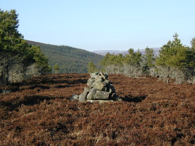 Summit cairn of Tom na Gabhar