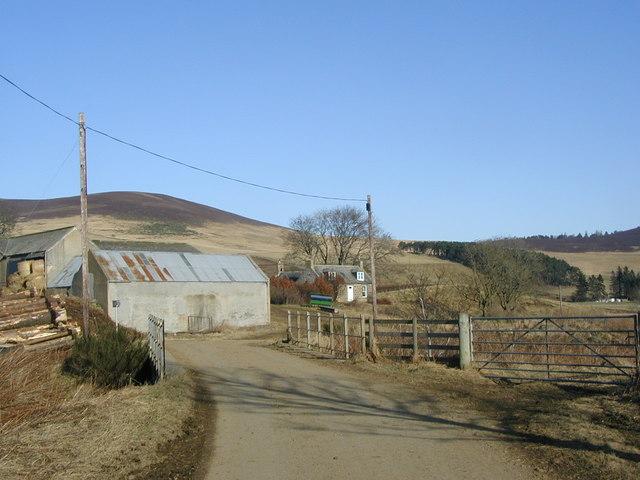 Milton Farm and outbuildings