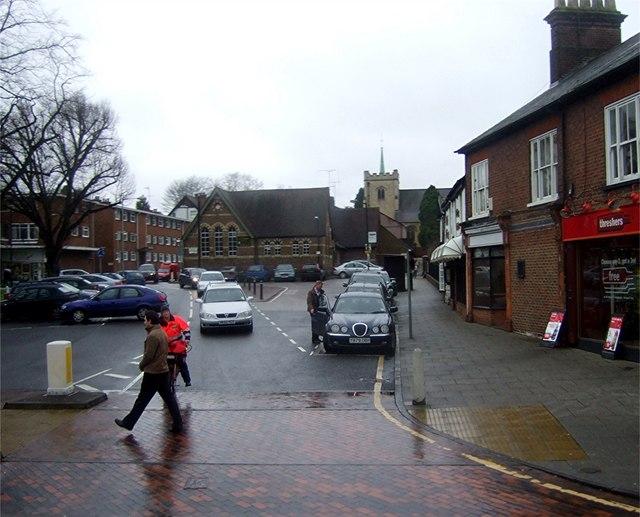 Off Harpenden High Street
