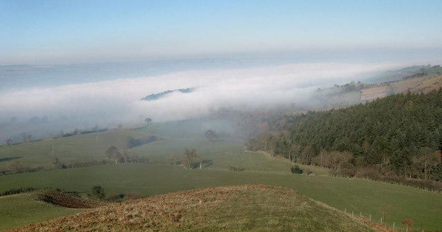 Rorrington under cloud
