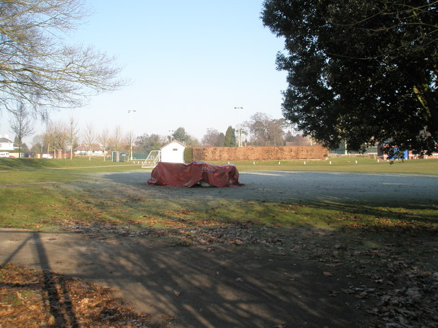 Playing fields at  Churcher's College
