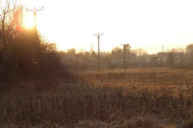 Waste land, Otley