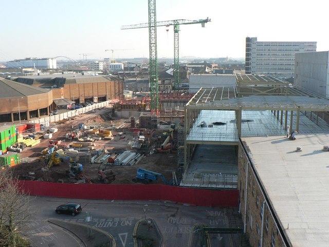 Newport: major redevelopment