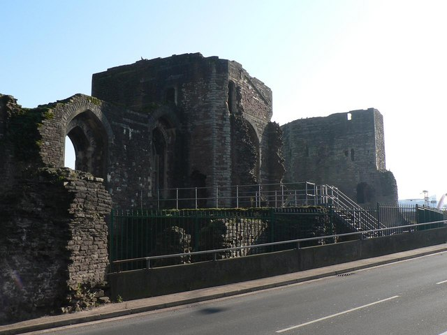 Newport: the castle