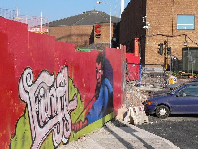 Newport: topical graffiti