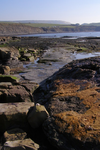 The Flats, Kimmeridge Bay