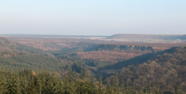 View over Newtondale
