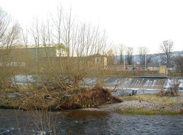 Island in the River Wharfe, Otley